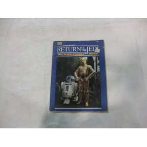 Star Wars Return Of The Jedi Picture Puzzle Book 1983 Toys & Games