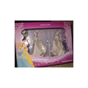 Disney Princess Cinderella and Belle Paint Your Own Statue