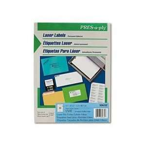 Avery Consumer Products  Laser File Folder Labels, 3 7/16
