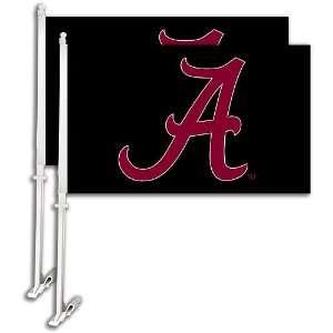 Bsi Alabama Crimson Tide Car Flag Set Of 2