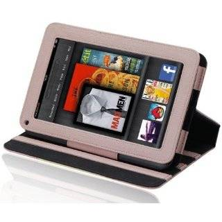 SIGNATURE Folio Leather Case Cover Fits the  Kindle FIRE Tablet