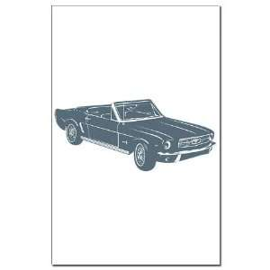 1964 Ford Mustang Convertible Sports Mini Poster Print by