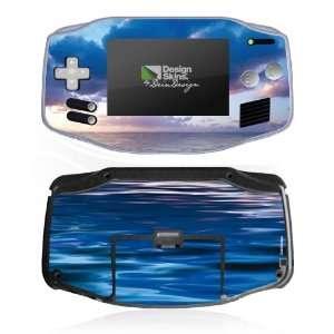 Design Skins for Nintendo Game Boy Advance   Deep Blue