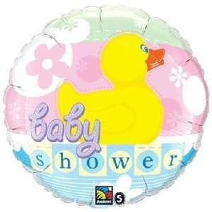 Baby Shower Balloons   18 Baby Shower Rubber Duck Toys & Games