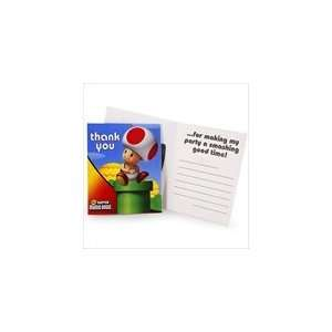 Super Mario Bros. Thank You Notes Toys & Games