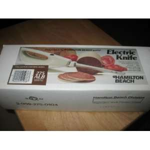 Hamilton Beach Electric Knife 275alb