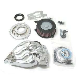 DBI Skull Air Cleaner Kit for Harley Davidson Automotive
