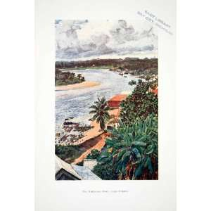 Landscape Harry Johnston Art   Original Color Print