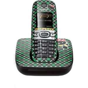 Hello Kitty Green Plaid skin for Gigaset C590 Electronics