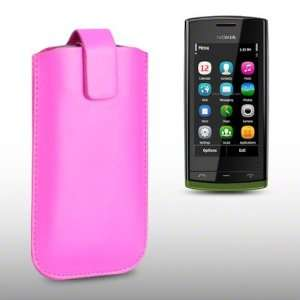NOKIA 500 PINK PU LEATHER CASE, BY CELLAPOD CASES