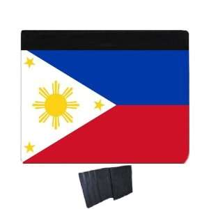 Philippines Flag iPad2 iPad3 Leather Case: Office Products