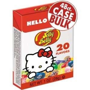Jelly Belly Hello Kitty 1 oz Flip Top boxes   48 Count Case