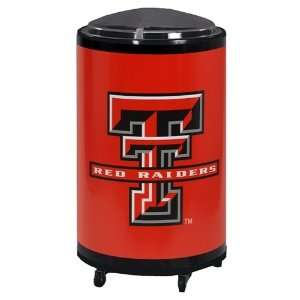 Texas Tech Patio Cooler / Ice Barrel Sports & Outdoors