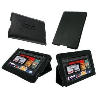 Ultra Slim (Red) Leather Case Cover Cover with Stand for  Kindle