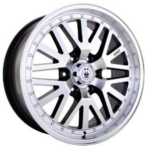 18x8.5 Konig Cross Road (Machined w/ Black Accents) Wheels/Rims 6x139