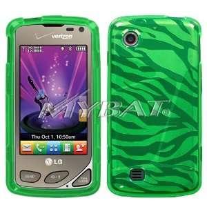 LG Chocolate Touch vx8575 Dr Green Zebra Skin Candy Skin