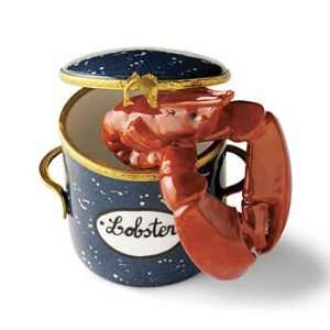 Lobster in a Pot Rochard French Limoges Box