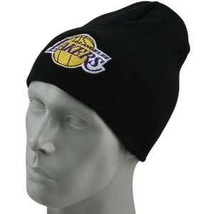NBA adidas Los Angeles Lakers Black Basic Logo Uncuffed