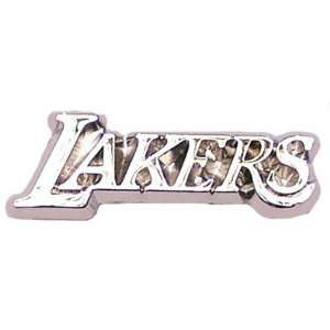 Los Angeles Lakers Silver Logo Pin