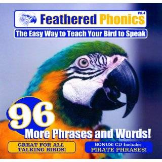 Feathered Phonics Adventure Parrot DVD Volume 1 Speak and