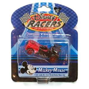 Mickey Mouse Disney Racers 1/64 Scale Die Cast Metal Body Race Car