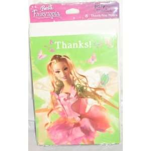 Barbie Fairytopia Thank You Notes Toys & Games