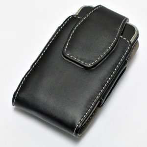 Pouch Belt Clip Black Leather Case Holster Cell Phones & Accessories