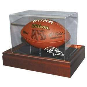 NFL Football Lighted Logo Display Case