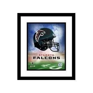 Atlanta Falcons NFL Team Logo and Football Helmet Collage