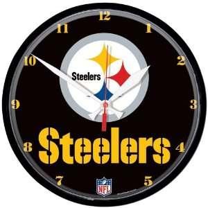 NFL Pittsburgh Steelers Clock   Logo