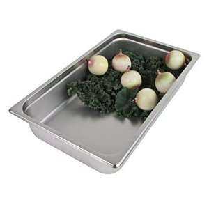 Full Size x 4 Deep   Stainless Steel Food Pan   Hotel Pans   Anti Jam