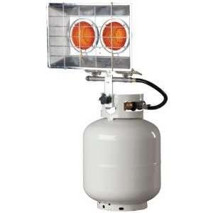 Mr Heater 8 28K BTU Electronic Ignition Double Tank Top Propane Patio