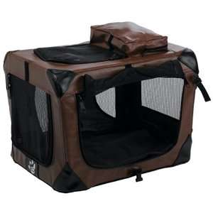 Pet Gear Home N Go Soft Sided Pet Crate, Small, Leatherette Pet
