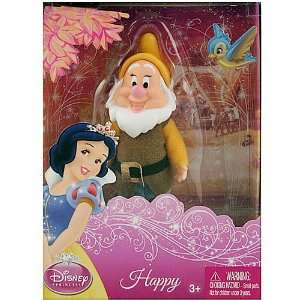 DISNEY PRINCESS SNOW WHITE 5 DWARF FIGURE   HAPPY Toys