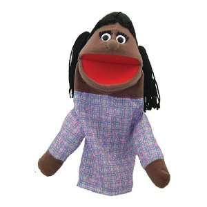 Half Body Family Puppets Girl Office Products