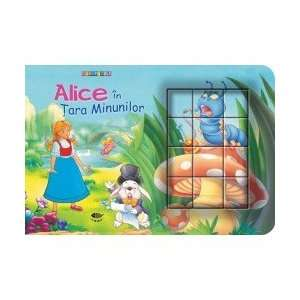 Alice in Tara Minunilor. Cubopuzzle (9789738743564): Fara autor: Books