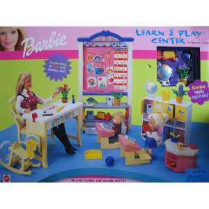 Barbie Learn & Play Center Playset (2000) Toys & Games