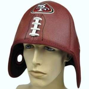 NFL San Francisco 49ers Reebok Football Shaped Helmet Head