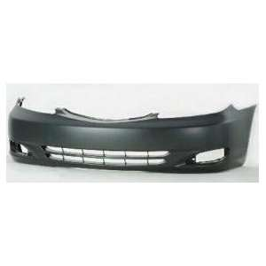 TY04190BC TY3 Toyota Camry Primed Black Replacement Front Bumper Cover