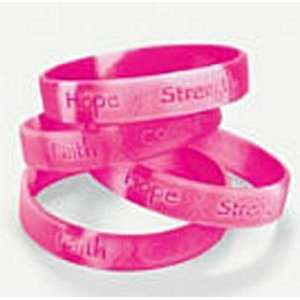 Pink Ribbon Camouflage Bracelet