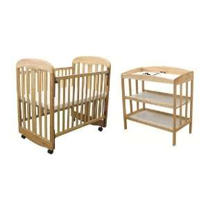 L.A. Baby Rocking Cradle & 3 Shelf Changer: Toys & Games