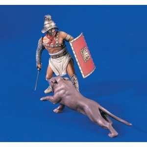 Roman Gladiator with Panther Verlinden Toys & Games