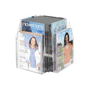 Safco RevealTM 8 Magazine Tabletop Displays Office
