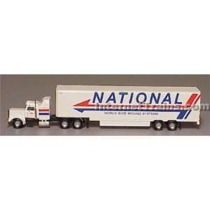 Cor N Scale Semi Truck w/48 Trailer   National Moving: Toys & Games