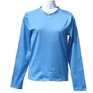 Womens University Blue Dri FIT Pro Compression Fit Long Sleeve Top