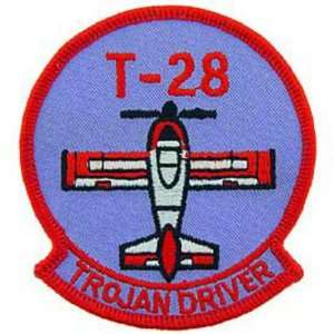 U.S. Air Force T 28 Trojan Driver Patch 3 Patio, Lawn
