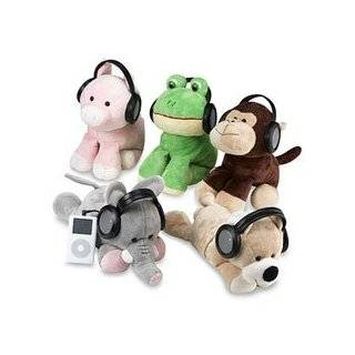 Iflops Assorted Animal Plush Stereo Speakers for CD & MP3