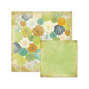 Sunshine Collection   12 x 12 Double Sided Paper   Lisa: Arts, Crafts