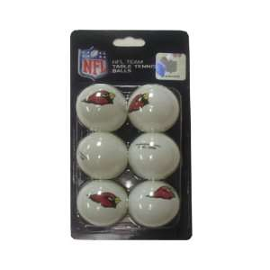 Cardinals Franklin Table Tennis Balls 6 pack
