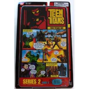 Teen Titans Series 2 Page 4 1.5 Comic Book Heroes Toys & Games